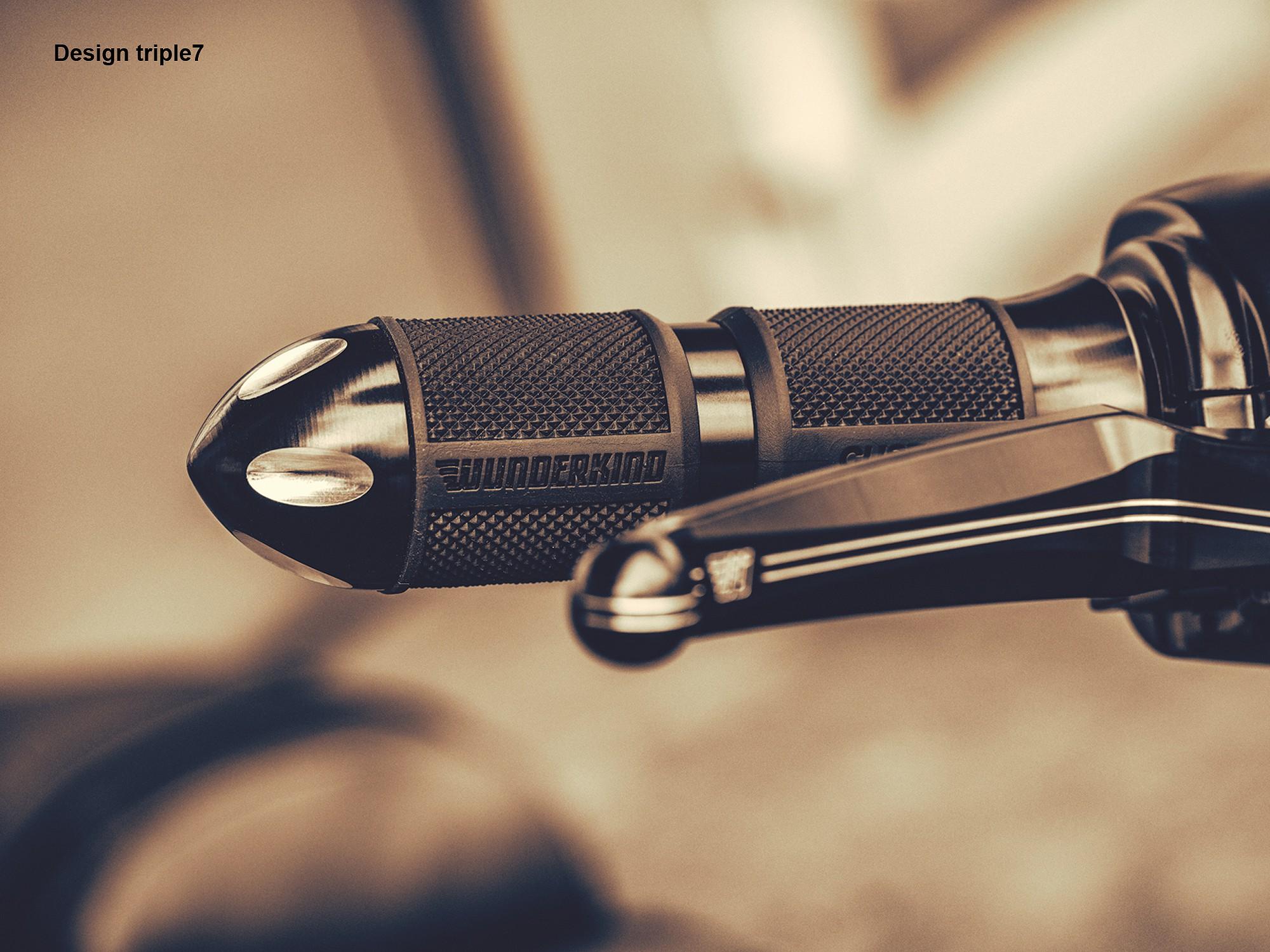 Handlebar Grips 1 Harley Ride By Wire Davidson Flashlight