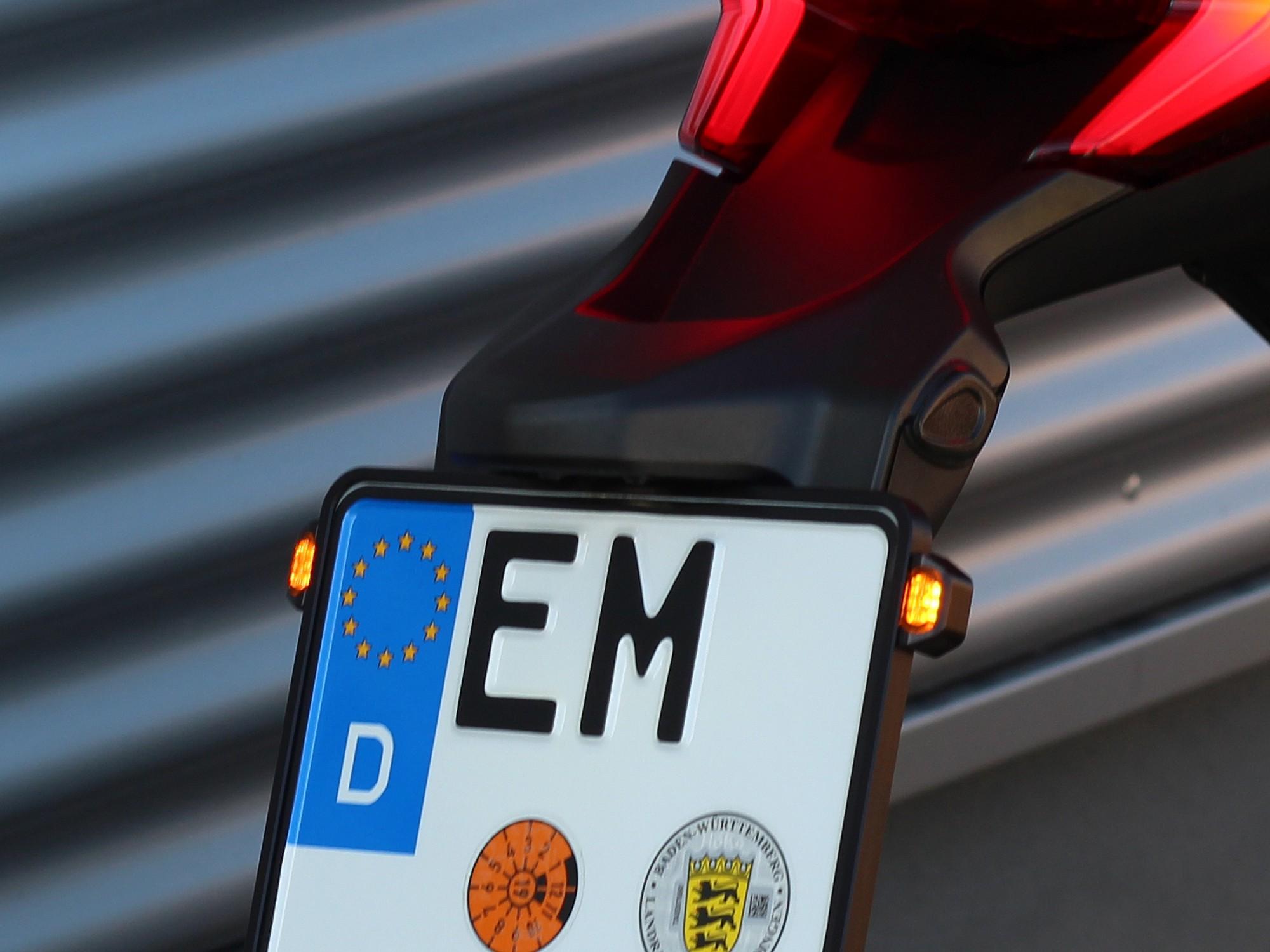 LED Blinker Modul für Kennzeichenrahmen