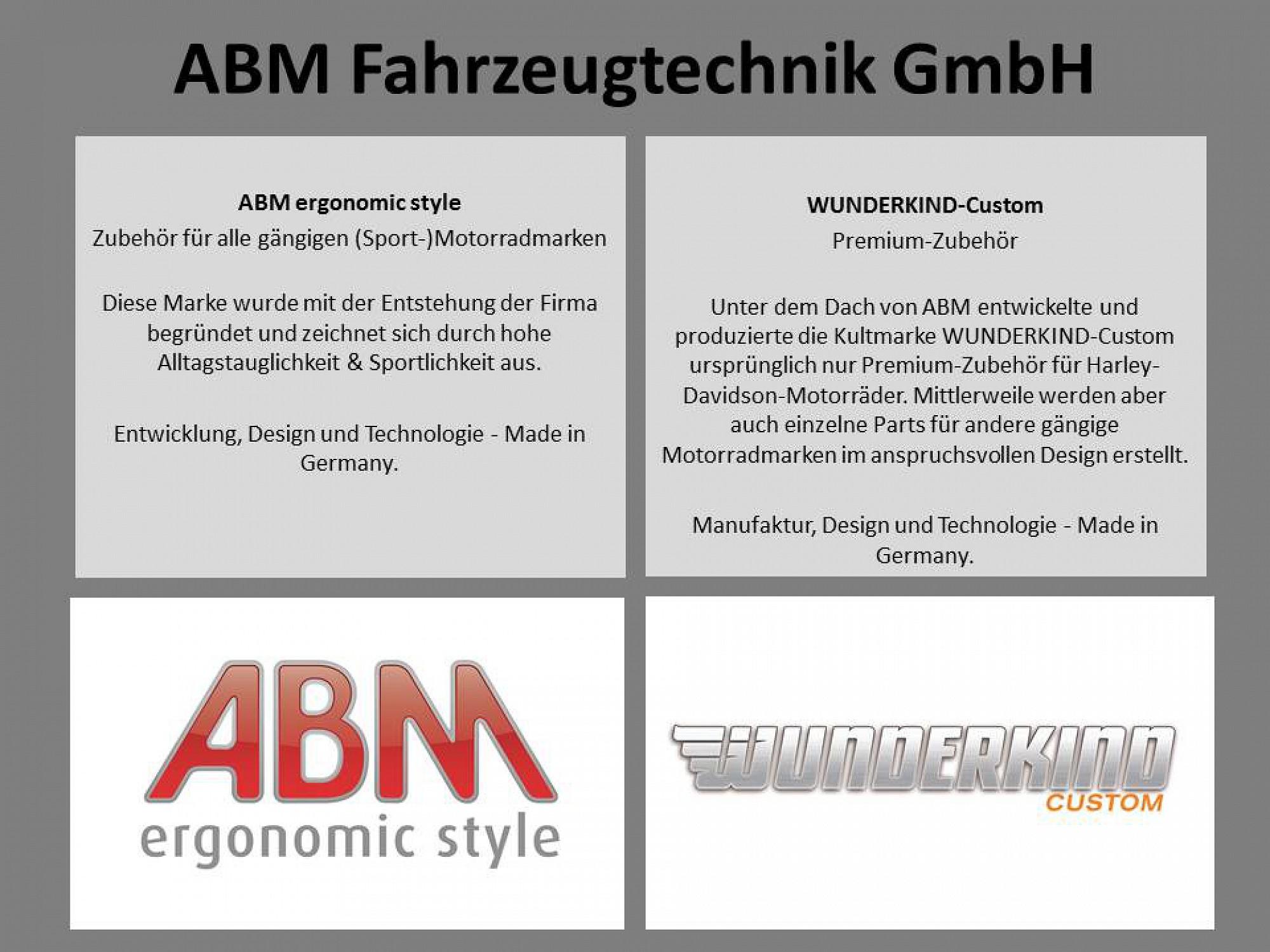 Motorradzubehör dt. Marken   WUNDERKIND-Custom & ABM